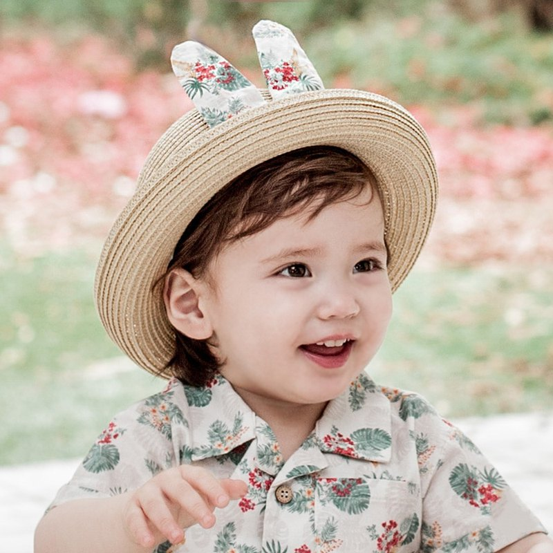 Happy Prince Adela baby sun hat