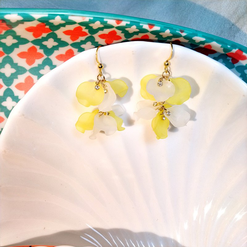 Jiaoruochunhua Series Rotating Ballet Earrings- (At first sight)