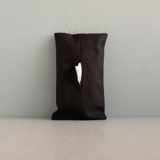 Paper bag face carton paper cover optional style special twill canvas black