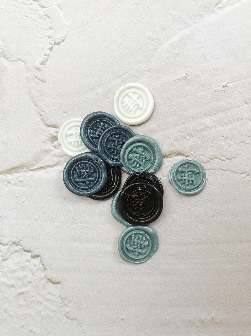 Mini seal hand sealing wax patch (invitation letter. Sealing. Hand account)