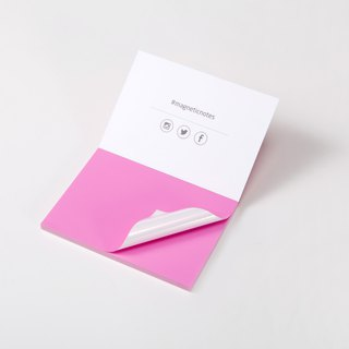 /Tesla Amazing/ Magnetic Notes S-Size pink