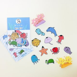 Seaweed bangs - stickers