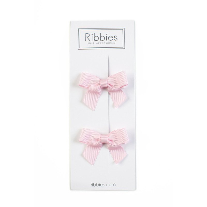 British Ribbies Classic Bow 2 Enrolled - Light Pink