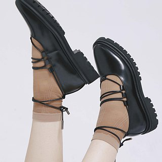 Placebo black ballet shoes