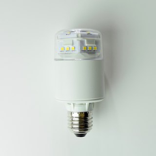High Brightness E27 Cylindrical Yellow Dimmable LED Bulb - Can be used in a closed environment