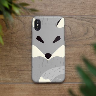 the gray fox iphone case สำหรับ iphone7 iphone 8 iphone 8 plus iphone x