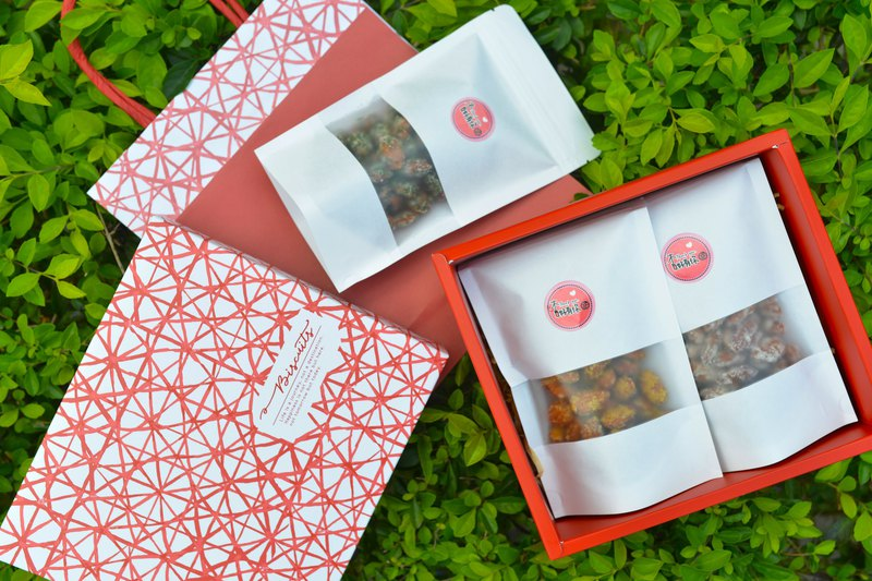 [New Year gift box] hanging frost almond fruit large package -3 packs can be purchased in a single package