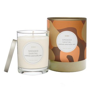 [KOBO] American Soy Essential Oil Candle - Smoked Sandalwood (330g/combustible 80hr)