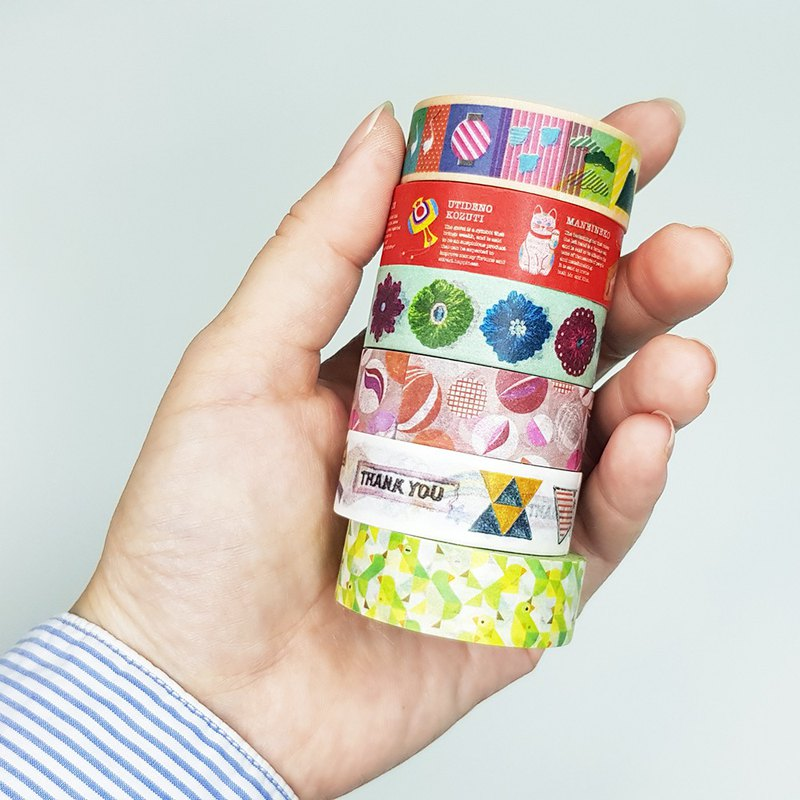 mt Masking Tape / Taiwan Limited Edition ver.2 SET (single packed)