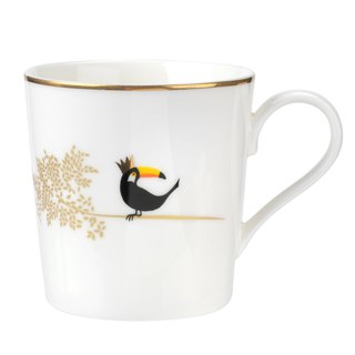 Sara Miller London for Portmeirion Piccadilly Mug- Terrific Toucan