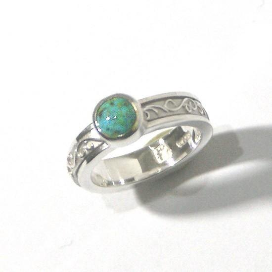 Turquoise · spin ring No. 6 · 1 point · free shipping