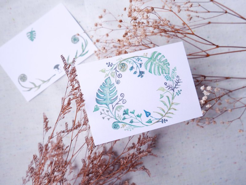 Limit purchase of Four Seasons Wreath Card for Summer Turtle