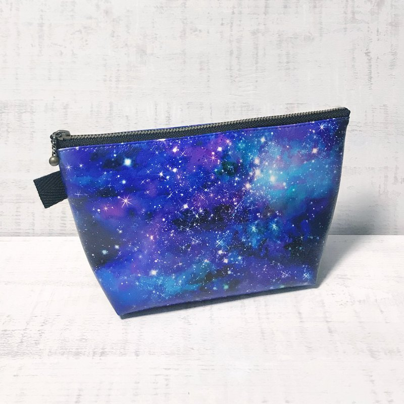 Pouch GALAXY / Cosmetic pouch / accessory case / star / universe