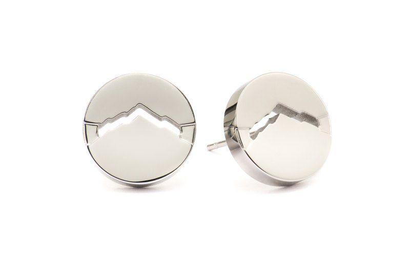 CLASSIC M Earrings Round