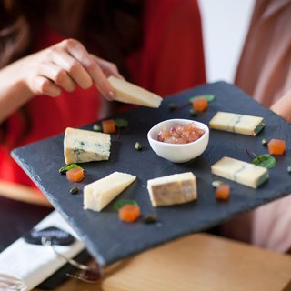 【UK】●Square Cheese Board●  The Just Slate Company