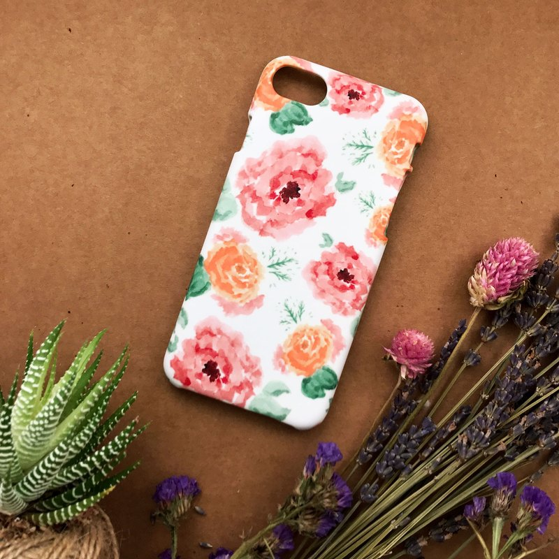 White Carnations. Matte Case( iPhone, HTC, Samsung, Sony, LG, OPPO)