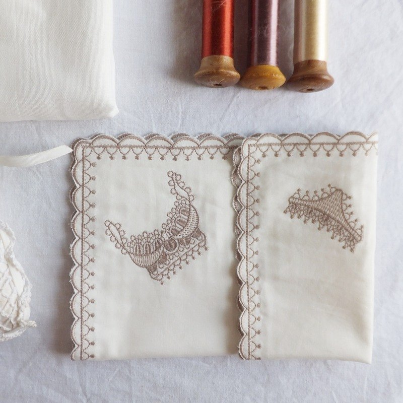 Lace Handkerchief   Embroidered Handkerchief : lingerie