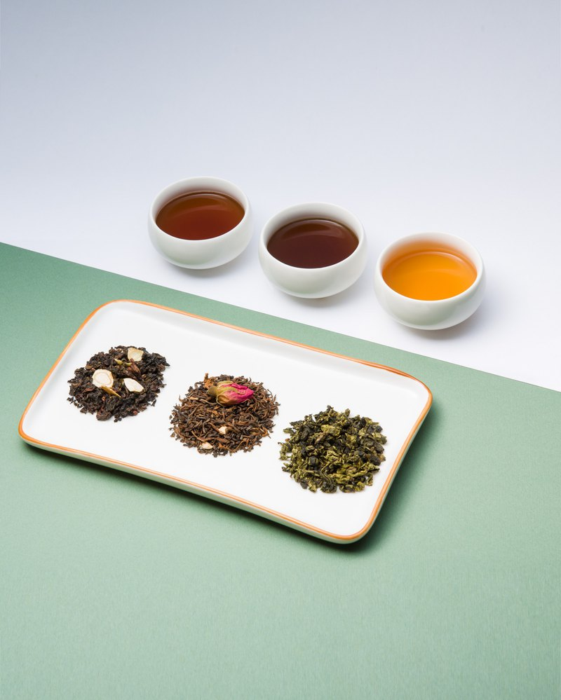 Rose, Tangerine Peel and Pu-er Tea
