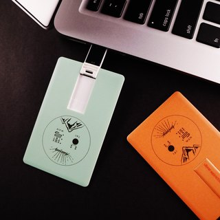 Deerhorn design / Deerhorn Laser Eye Card 2GB Orange Gray Apple Green