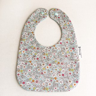 Double Sided Bib - White Flower