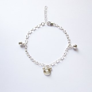 Mini Bear Silver Bracelet(birthday present)