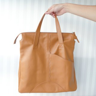 Effee bag - Texture brown