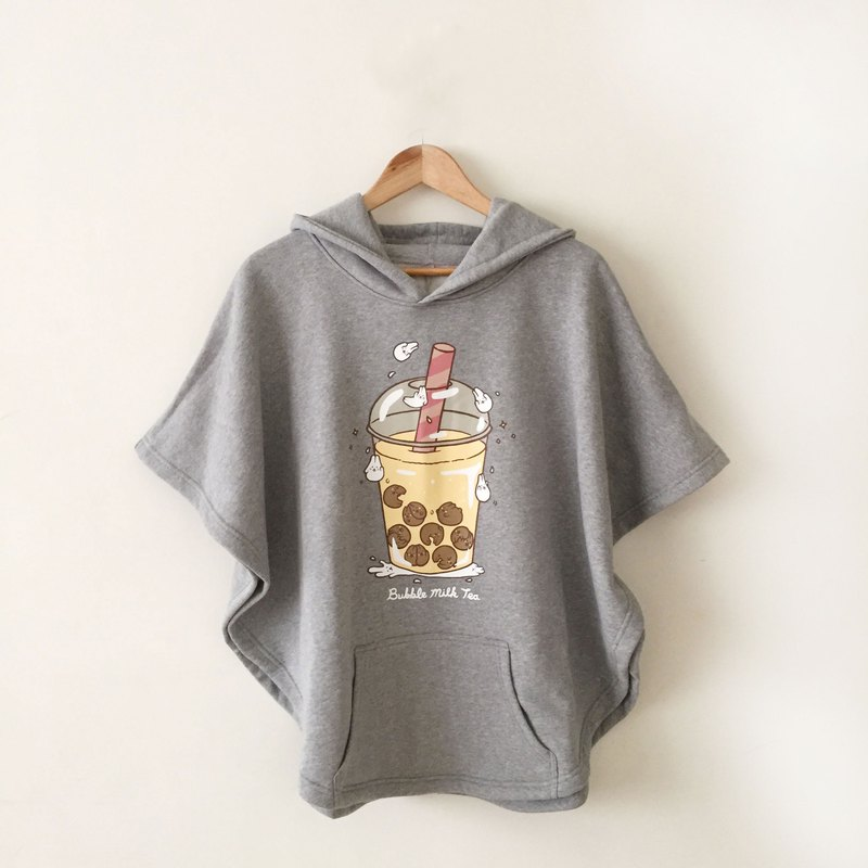 Mochi Rabbit bubble milk tea poncho