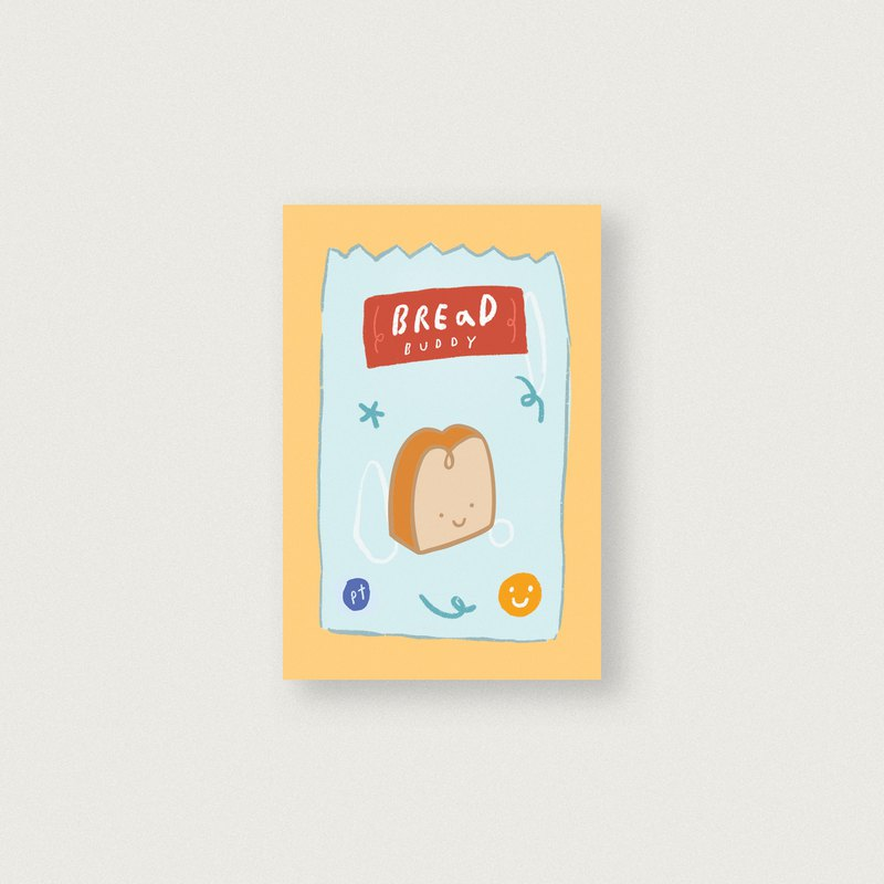 Bread Buddy Enamel Pin