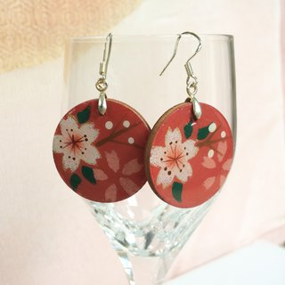Retro Modern Hanging Earing, Pierce, Japanese style