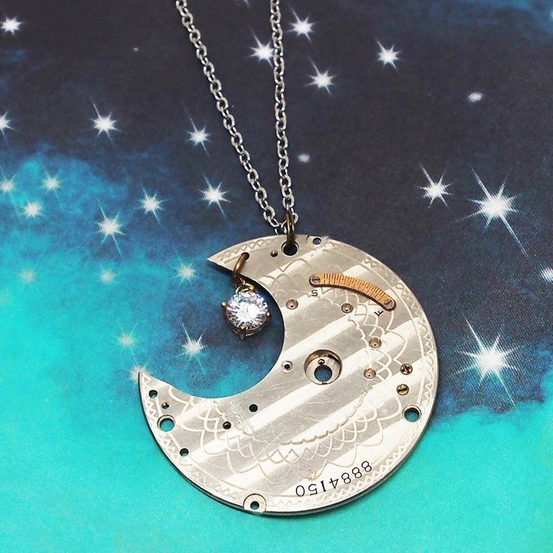 Steampunk 3rd month moon light -Silver