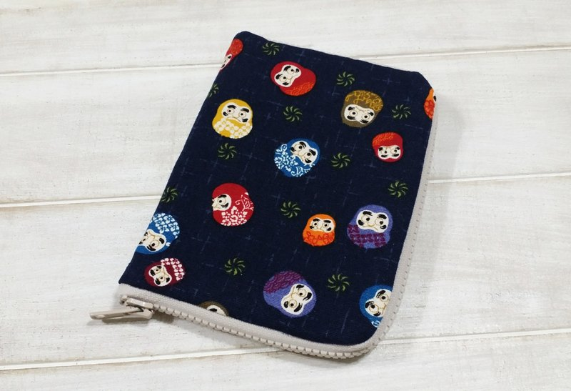 Blue tumbler Passport Holder / notebook sleeve