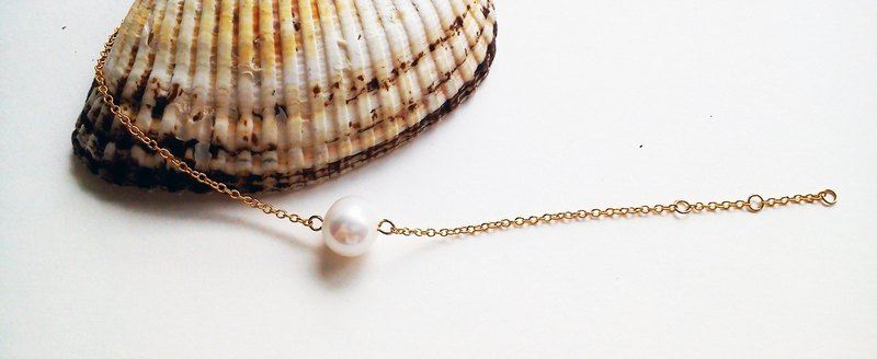 100% hand-made freshwater pearl own design bracelet-Long Vocation series