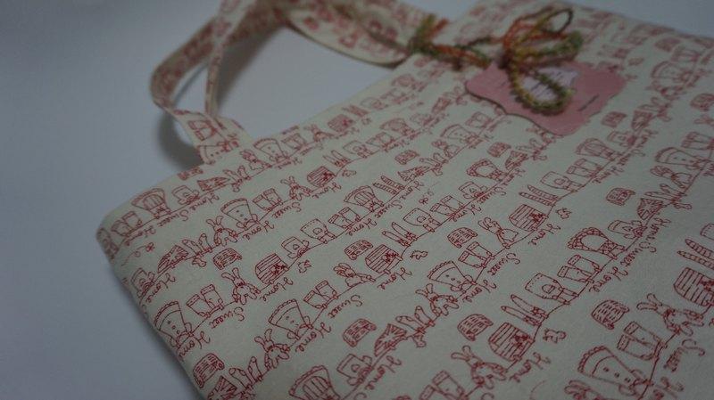 情人節禮物--暖暖手提袋-童真系列