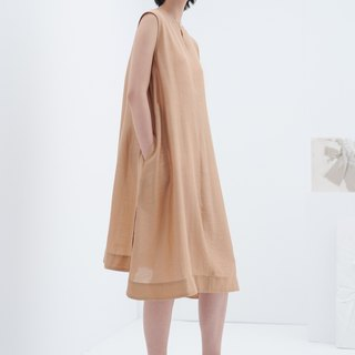 TRAN - Double-sided loose dress