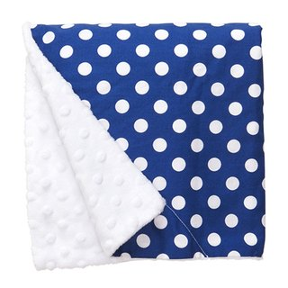 Blue little skin-friendly pea blanket / births gift birthday gift