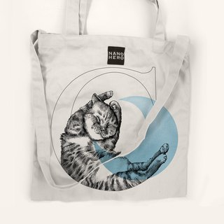 [Hero-bag] animal alphabet canvas bag - month