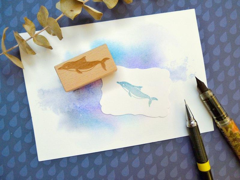 海豚丨海洋印章丨