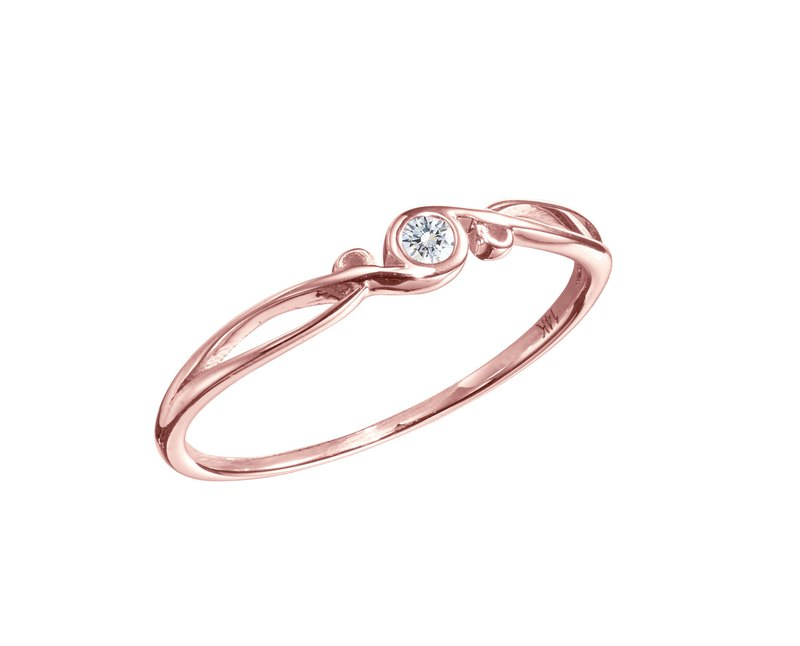 Alternative Wedding Band Ring Minimalist Engagement Unique Promise