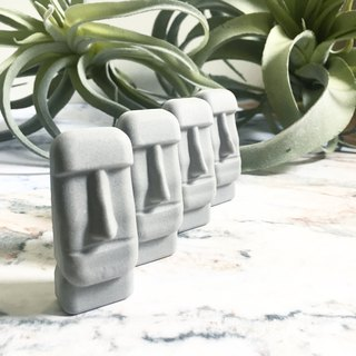 Wannabe Moai Magnets Incense Stone Multicolor Morgan Resurrection Island Gifts Bouquet Wedding Ceremony Wedding