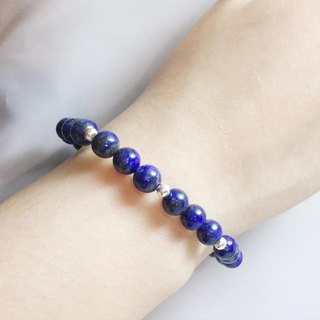MH sterling silver natural stone pure series _ guardian hound _ lapis lazuli