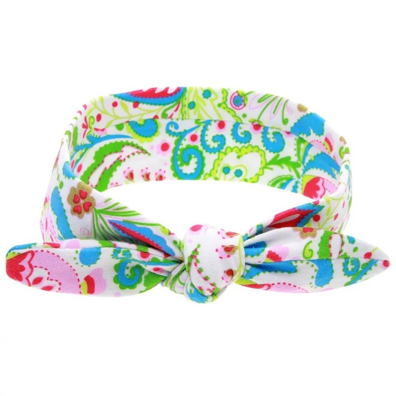 Cotton soft printed children's hair band