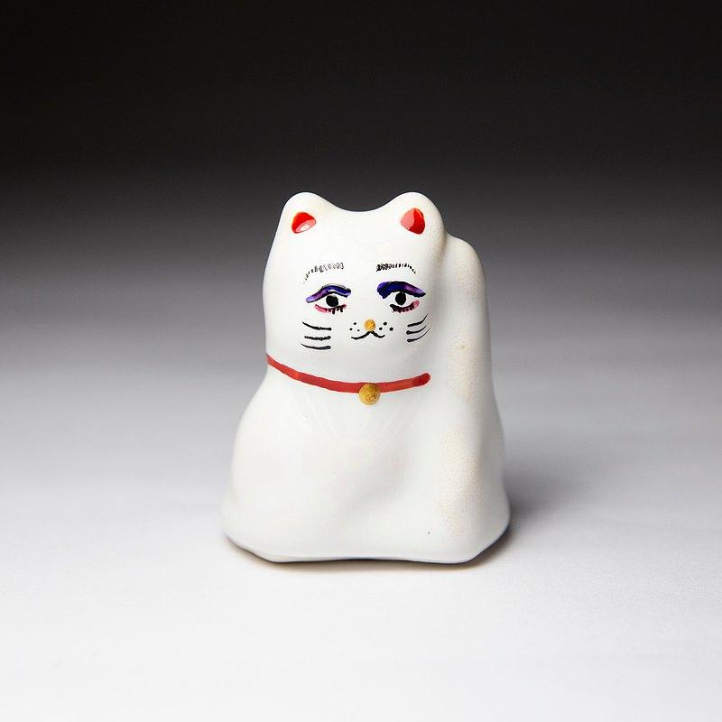 街頭開運招財貓-窈窕淑女(淡妝版)