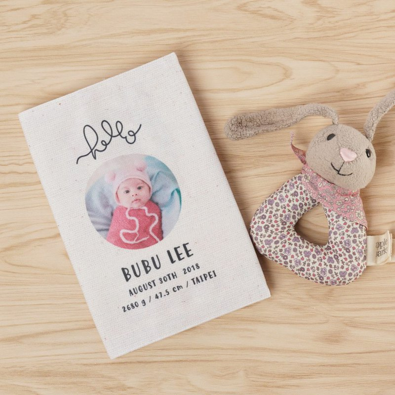 Customized baby manual book cover