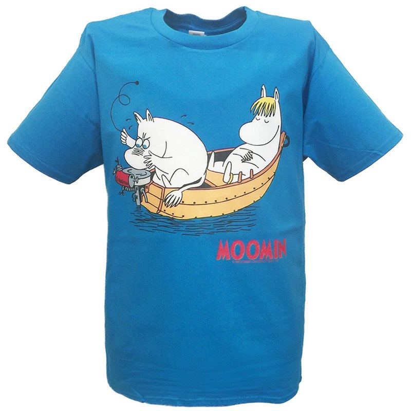 Moomin Lulu meters authorized-T-shirt: [comfortable children] adult short-sleeved T-shirt