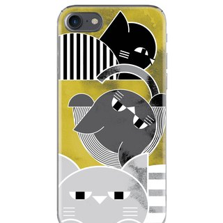 The cat went to the retro - Samsung S5 S6 S7 note4 note5 iPhone 5 5s 6 6s 6 plus 7 7 plus ASUS HTC m9 Sony LG G4 G5 v10 phone shell mobile phone sets shell phone cases