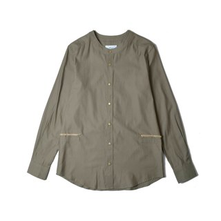oqLiq - Display in the lost - Bird's Tread Shirt (Olive Green)