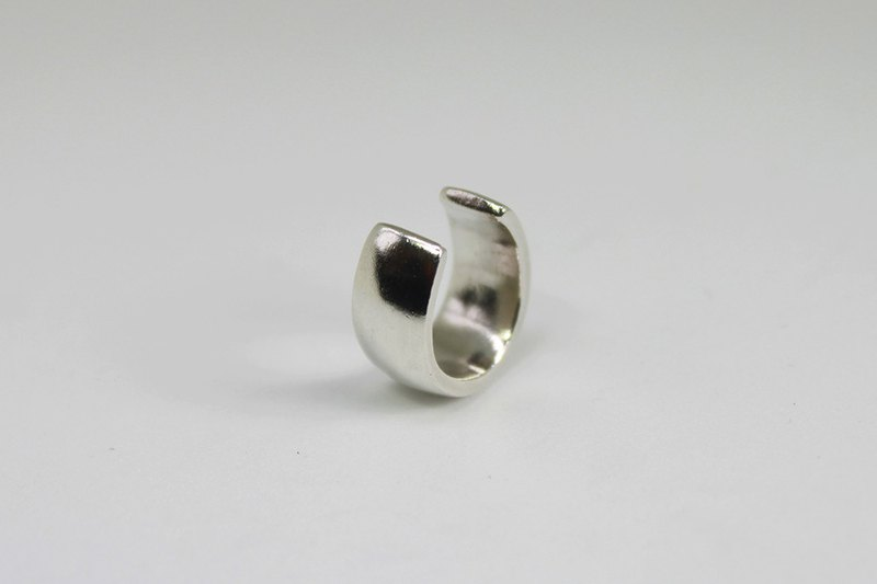 [925 silver] thick ear clip
