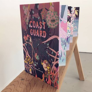 Coast Guard: An accordion stickerbook based on the vanishing mangrove