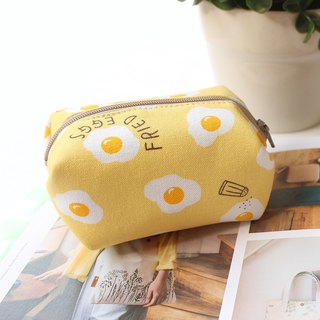 Pouch egg style coin purse / storage bag