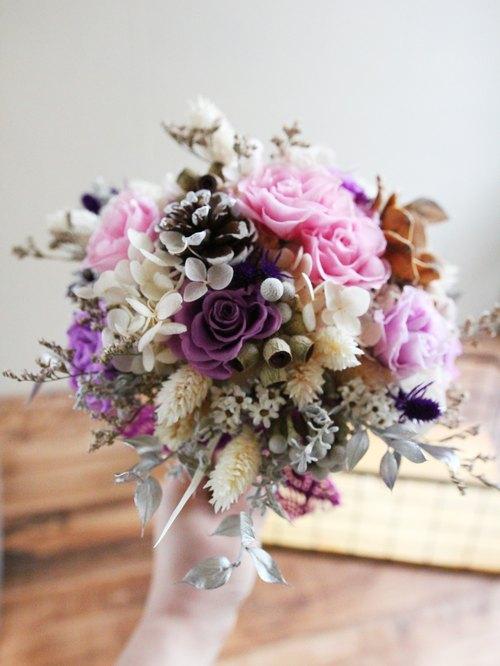 │ Preserved flowers / dried flower bouquet │ ♥ Beauté Spring ...